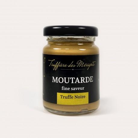 Moutarde fine saveur truffe noire 90g