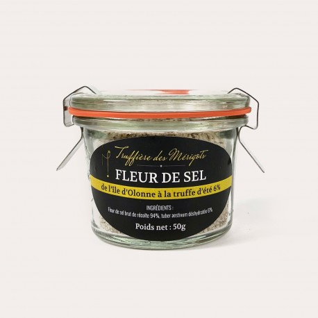 Fleur de sel à la truffe d'été 6%