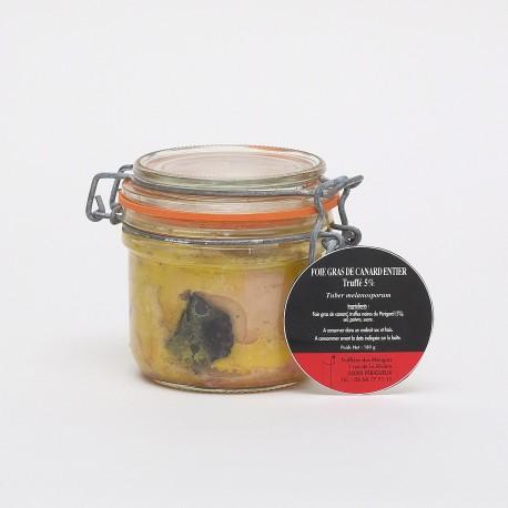 Foie Gras de Canard Entier Truffé 5% 180g