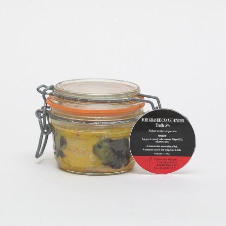 Foie Gras de Canard Entier Truffé 5% 130g